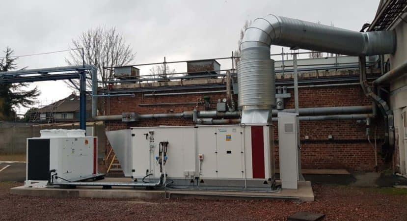 climatisation industrielle
