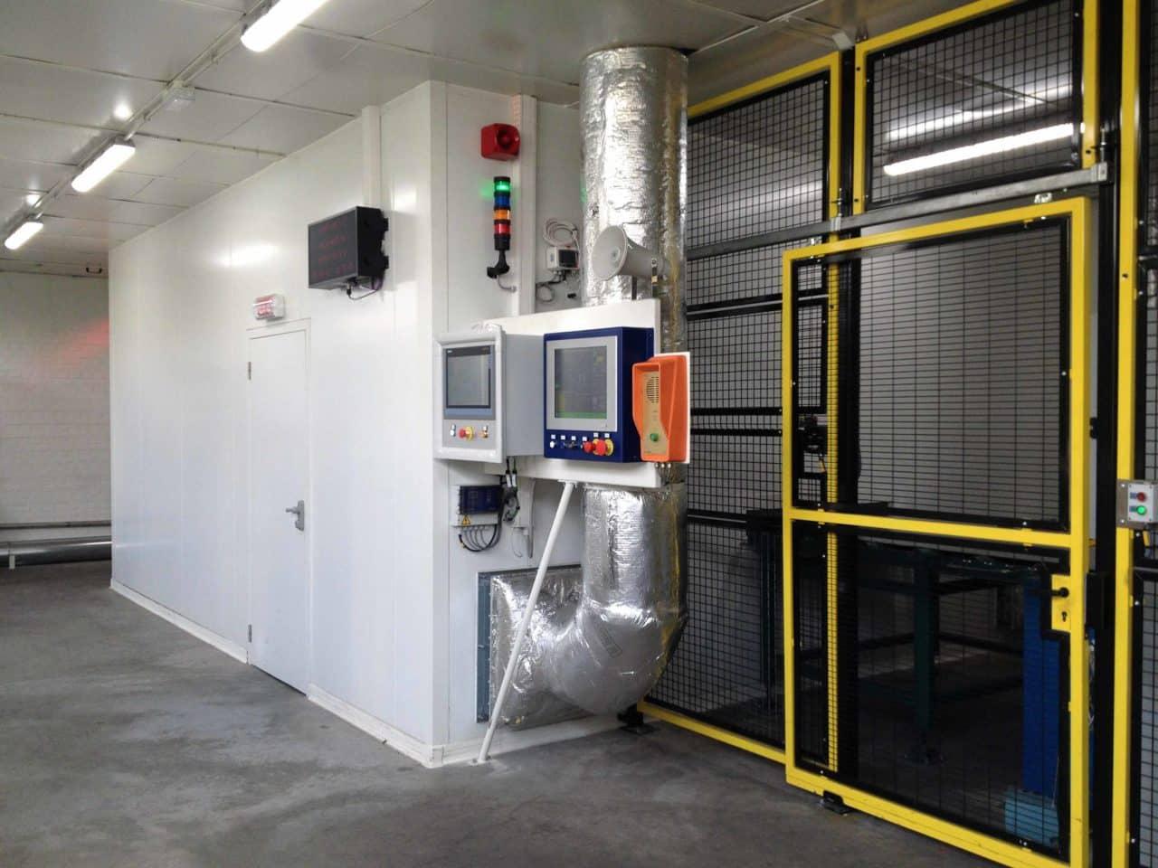 salle blanche industrielle